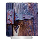 Hinged Shower Curtain