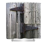 Hinges Shower Curtain