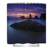 Hint Of Light Shower Curtain