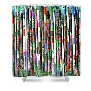 Hint Of Tiger - Sold Shower Curtain