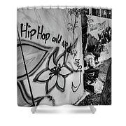 Hip Hop We Don't Stop Shower Curtain