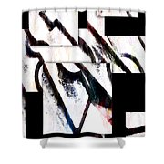 Hip To Be Square Shower Curtain