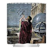 Hipparchus (146-127 Bc) Shower Curtain