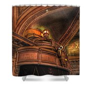 Hippodrome Theatre Balcony - Baltimore Shower Curtain