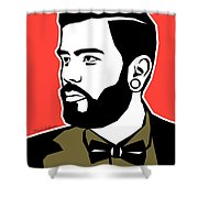 Hipster 3 Shower Curtain