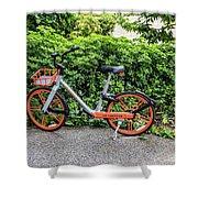Hire Bike Shower Curtain