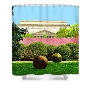 Hirshhorn Colour Shower Curtain