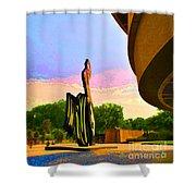 Hirshhorn Sky Shower Curtain