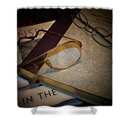 His And Hers - A Still Life Shower Curtain