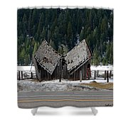His And Hers Barn 1 Shower Curtain