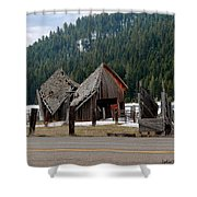 His And Hers Barn 3 Shower Curtain