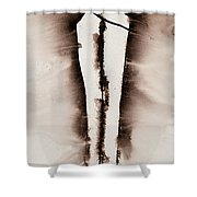 His Embrace Divine Love Series No. 1287 Shower Curtain