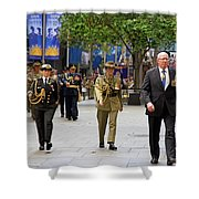 His Excellency General The Honourable David Hurley Shower Curtain