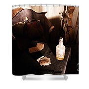 His Spirit Lingers Shower Curtain