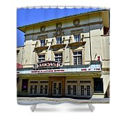Historic 1920s Revived Lucas Theater Shower Curtain