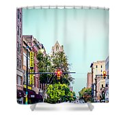 Historic Alabama And Lyric Theatres Shower Curtain