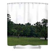 Historic Appomattox Panorama  Shower Curtain