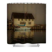 Historic Boat Builder Shower Curtain