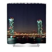 Historic Bridge Site Shower Curtain