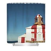 Historic Cape Bonavista Lighthouse, Newfoundland, Canada Shower Curtain
