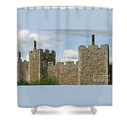 Historic Castle Shower Curtain