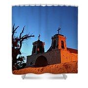 Historic Chiu Chiu Church Chile Shower Curtain