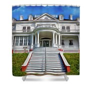 Historic Cone Manor Blue Ridge Parkway Ap Shower Curtain