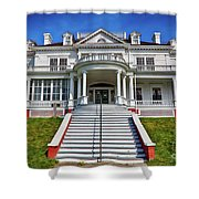 Historic Cone Manor Blue Ridge Parkway Shower Curtain