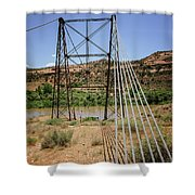 Historic Dewey Bridge Shower Curtain