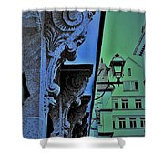 Historic District  Shower Curtain