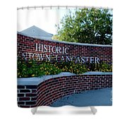 Historic Downtown Lancaster Shower Curtain