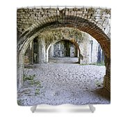 Historic Florida Fort Shower Curtain