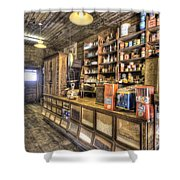 Historic General Store Shower Curtain