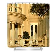 Historic Home On Battery Street Shower Curtain