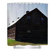 Historic Horse Barn Shower Curtain
