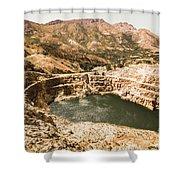 Historic Iron Ore Mine Shower Curtain