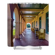Historic Kelso Depot Shower Curtain