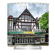Historic Keswick Theater In Glenside Pa Shower Curtain