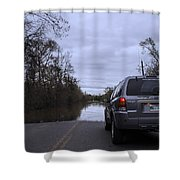 Historic Louisiana Flooding Shower Curtain