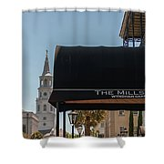 Historic Mills House Lodging Shower Curtain