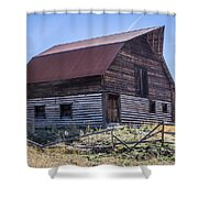 Historic More Barn Shower Curtain
