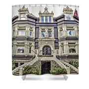Historic Old Louisville - William Wathen House 1895 Shower Curtain