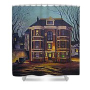 Historic Property South End Haifax Shower Curtain