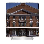 Historic Roanoke City Market Building Shower Curtain