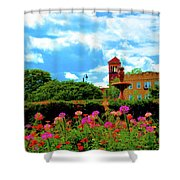 Historic Rochester Gardens Shower Curtain