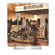 Historic Route 66 Shower Curtain