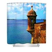 Historic San Juan Fort Shower Curtain
