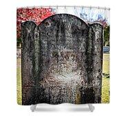 Historic Stone - Quaker Cemetery Shower Curtain