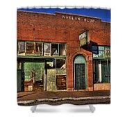 Historic Storefront In Bisbee Shower Curtain