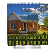 Historic Tombstone In Arizona Shower Curtain
